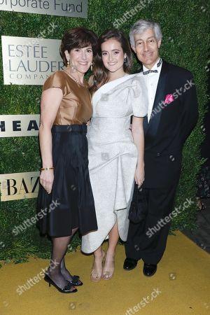 Laura Lauder, Eliana Lauder and Gary Lauder