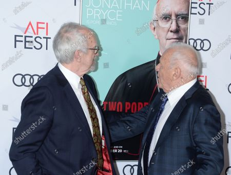 Jonathan Pryce and Sir Anthony Hopkins
