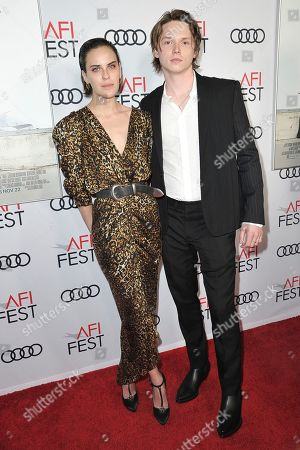 """Tallulah Willis, Jack Kilmer. Tallulah Willis, left, and Jack Kilmer attend 2019 AFI Fest - """"Hala"""" at the TCL Chinese Theatre, in Los Angeles"""