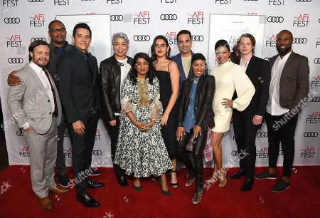 Editorial photo of 'Hala' film gala screening, Arrivals, AFI Fest, TCL Chinese Theatre, Los Angeles, USA - 18 Nov 2019