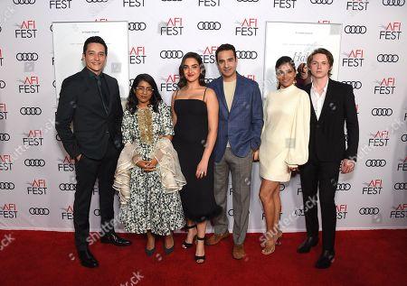 Gabriel Luna, Minhal Baig, Geraldine Viswanathan, Azad Khan, Purbi Joshi and Jack Kilmer
