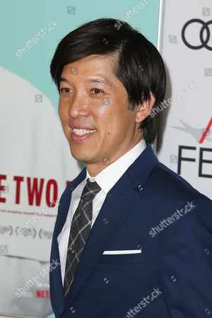 Dan Lin poses on the AFI Fest 2019 red carpet during the premiere of 'The Two Popes' at TCL Chinese Theatre in Hollywood, USA, 18 November 2019. â??The Two Popesâ?? will be released on Netflix on 20 December 2019.