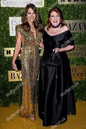 Stock Image of Elizabeth Hurley and Glenda Bailey