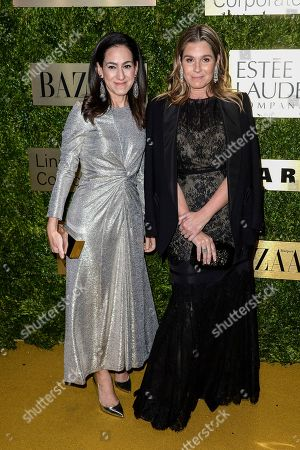 Stock Picture of Jane Lauder and Aerin Lauder
