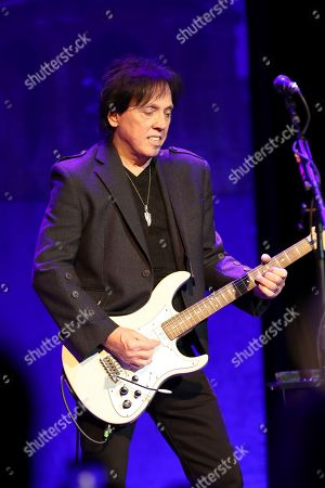 Stock Picture of John McFee of the Doobie Brothers performs at The Doobie Brothers at Ryman Auditorium, in Nashville, Tenn