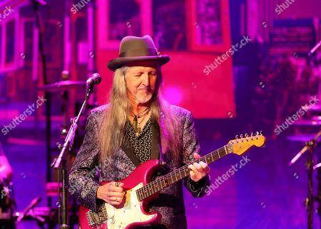 Patrick Simmons of the Doobie Brothers performs at The Doobie Brothers at Ryman Auditorium, in Nashville, Tenn