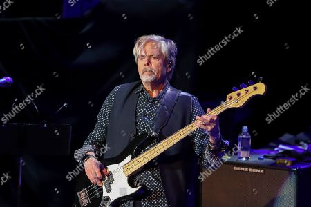 Stock Picture of John Cowan of the Doobie Brothers performs at The Doobie Brothers at Ryman Auditorium, in Nashville, Tenn