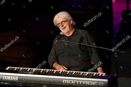 """Doobie Brothers, Michael McDonald. Michael McDonald performs """"Takin' It To The Streets"""" and """"Listen To The Music"""" with the Doobie Brothers before they announced their 50th Anniversary Tour at The Doobie Brothers at Ryman Auditorium, in Nashville, Tenn"""