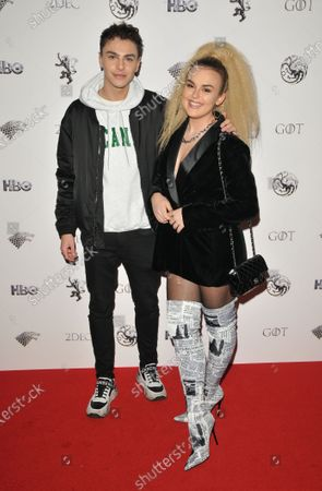 Stock Photo of Stevie Ruffs and Tallia Storm