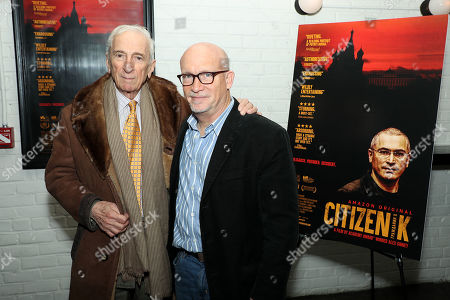 Gay Talese and Alex Gibney (Filmmaker)
