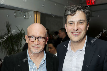Stock Image of Alex Gibney (Filmmaker) and Mark Mazzetti (Moderator)