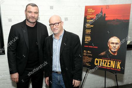 Liev Schreiber and Alex Gibney (Filmmaker)