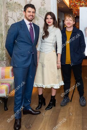Toby Kebbell, Nell Tiger Free and Rupert Grint
