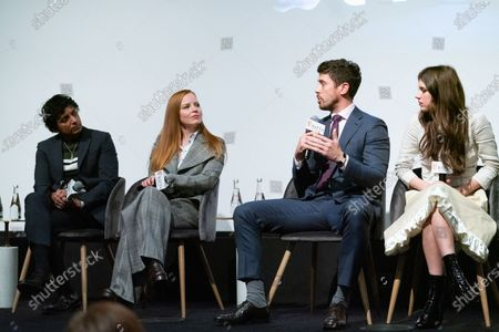 M Night Shyamalan, Lauren Ambrose, Toby Kebbell and Nell Tiger Free