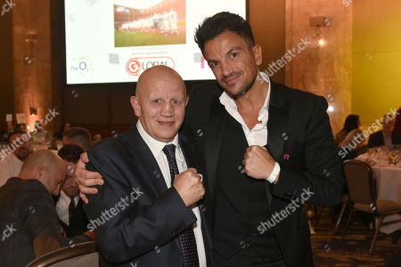 Editorial image of Nordoff Robbins Boxing Dinner, Boxing, London Hilton, United Kingdom - 18 Nov 2019