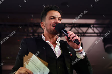 Editorial photo of Nordoff Robbins Boxing Dinner, Boxing, London Hilton, United Kingdom - 18 Nov 2019