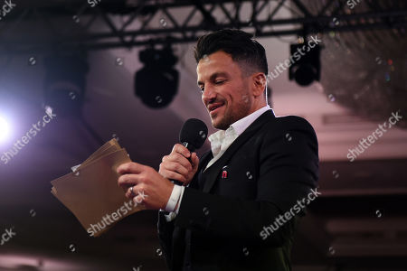 Stock Photo of Peter Andre during the Nordoff Robbins Boxing Dinner at the London Hilton Hotel on 18th November 2019