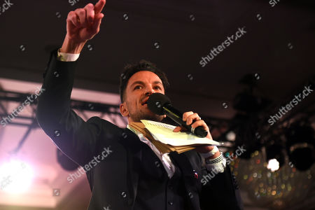 Peter Andre during the Nordoff Robbins Boxing Dinner at the London Hilton Hotel on 18th November 2019
