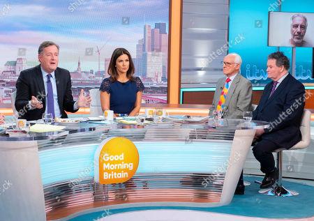 Piers Morgan, Susanna Reid, Dickie Arbiter and Mark Stephens