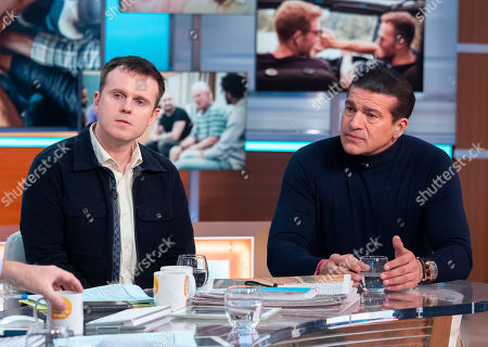 Stock Picture of Andrew Doyle and Tamer Hassan