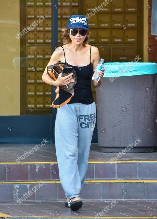 Editorial photo of Lisa Rinna out and about, Los Angeles, USA - 18 Nov 2019