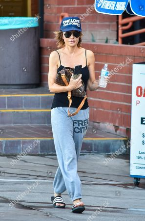 Editorial image of Lisa Rinna out and about, Los Angeles, USA - 18 Nov 2019