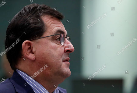 Spanish State Secretary for the European Union Luis Marco Aguiriano Nalda attends during the European General Affairs Council meeting in Brussels, Belgium, 19 November 2019. Preperations for the 12-13 December European Council meeting will be topping the agenda.