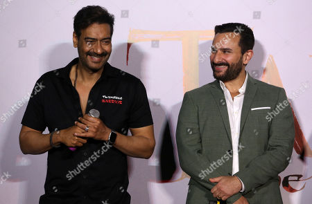 Editorial picture of Trailer launch of bollywood movie Tanhaji in Mumbai, India - 18 Nov 2019