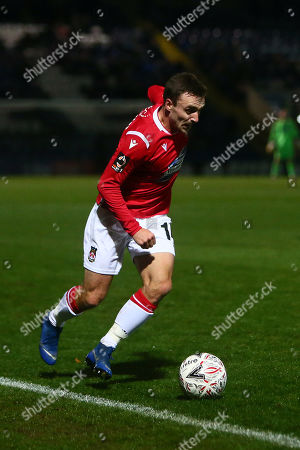 Stock Image of Wrexham?s Paul Rutherford
