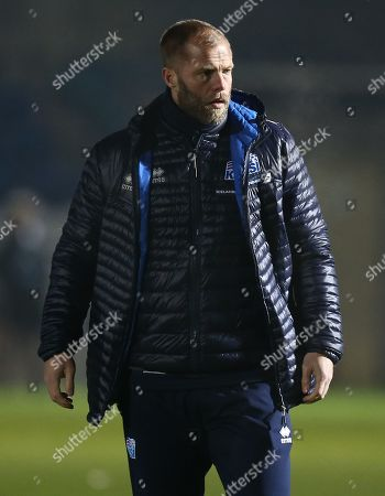 Stock Picture of Eidur Gudjohnsen assistant manager of Iceland