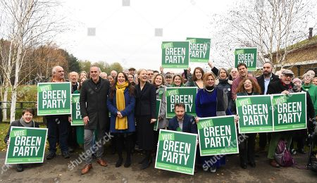 Editorial image of Green party delivers their manifesto in London, United Kingdom - 19 Nov 2019