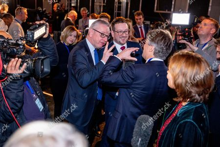 Editorial picture of Johnson v Corbyn: The ITV Debate, Manchester, UK - 19 Nov 2019