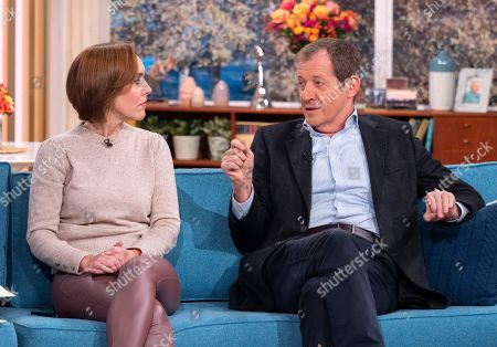 Camilla Tominey and Alastair Campbell