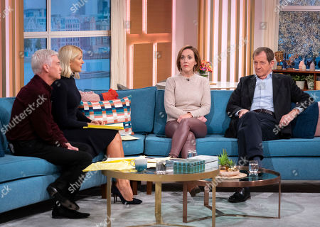 Phillip Schofield, Holly Willoughby with Camilla Tominey and Alastair Campbell