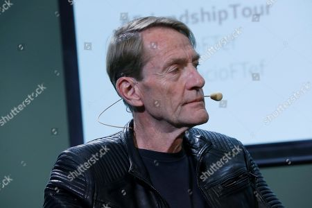 Editorial photo of Ken Follet and Lee Child visit Madrid as part of their pro-European 'The Friendship Tour', Spain - 19 Nov 2019