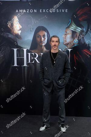 Editorial photo of Presentation of Amazon's new series 'Hernan', Madrid, Spain - 19 Nov 2019