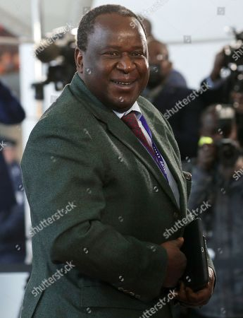 Finance Minister of South Africa Tito Mboweni arrives at the Chancellery for the G20 Compact with Africa conference, in Berlin, Germany, 19 November 2019. The G20 Compact with Africa summit takes place from 18 to 20 November 2019.