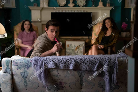 Esther Povitsky as Izzy Levine, Goran Visnjic as Colin and Shay Mitchell as Stella Cole