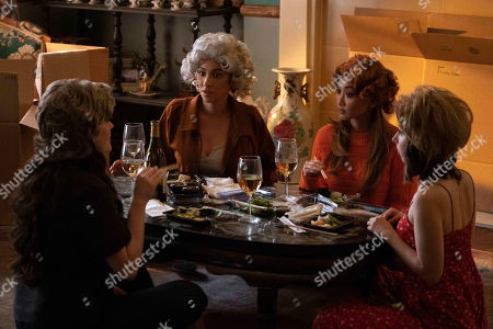 Kat Dennings as Jules Wiley, Shay Mitchell as Stella Cole, Brenda Song as Madison Maxwell and Esther Povitsky as Izzy Levine