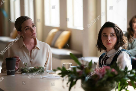 Brianne Howey as Alison B and Esther Povitsky as Izzy Levine