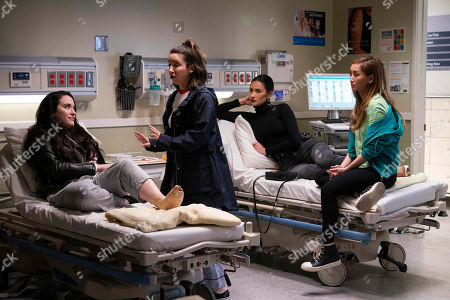 Kat Dennings as Jules Wiley, Esther Povitsky as Izzy Levine, Shay Mitchell as Stella Cole and Brenda Song as Madison Maxwell