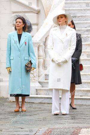Princess Caroline of Hanover, Princess Charlene, Princess Stephanie