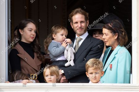 Princess Alexandra of Hanover, Pierre Casiraghi, Tatiana Santo Domingo, Princess Caroline of Hanover