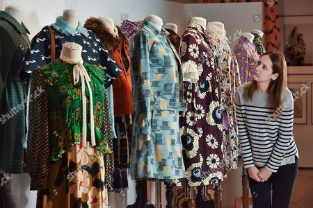 Editorial photo of 'Orla Kiely: A Life in Pattern' exhibition, Winchester, Hampshire, UK - 15 Nov 2019