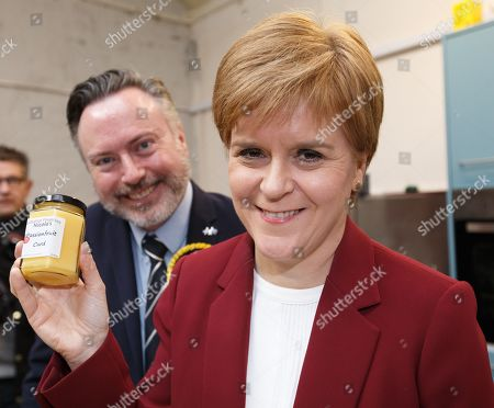 Editorial picture of Nicola Sturgeon on the campaign in Stirling, United Kingdom - 19 Nov 2019