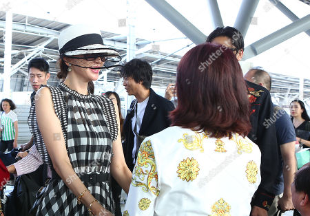 Editorial photo of Lin Chi-ling and AKIRA out and about, Taiwan, China - 18 Nov 2019