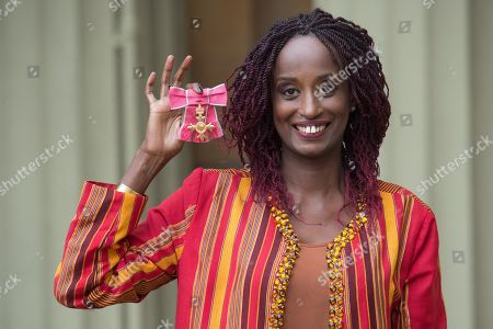 Dr. Leyla Hussein, is awarded an OBE for services to Tackling Female Genital Mutilation and Gender Inequality