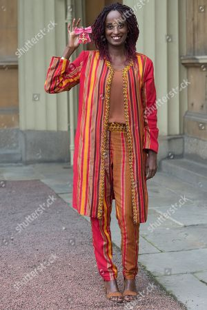 Stock Picture of Dr. Leyla Hussein, is awarded an OBE for services to Tackling Female Genital Mutilation and Gender Inequality