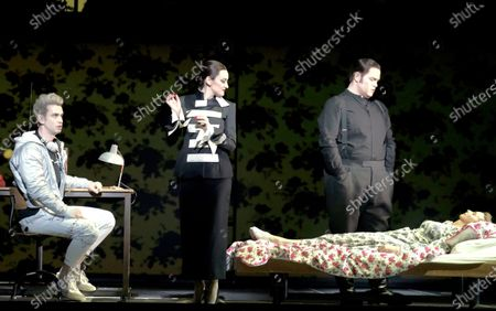 Anthony Gregory as Cegeste, Jennifer France as Princess, Nicky Spence as Heurtebise
