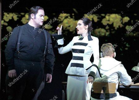 Nicky Spence as Heurtebise,  Jennifer France as Princess, Anthony Gregory as Cegeste,